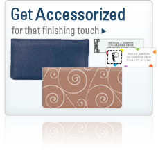 Get accessorized for that finishing touch