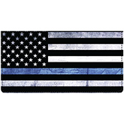 Support Our Police Leather Cover