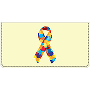 Autism Awareness  Leather Cover